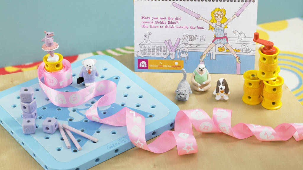 GoldieBlox: The Engineering Toy for Girls project video thumbnail