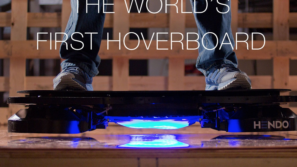 Hendo Hoverboards - World's first REAL hoverboard project video thumbnail